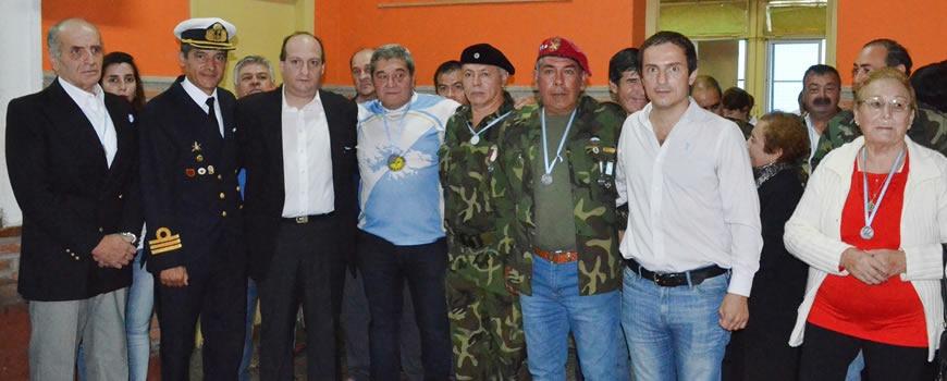 El Municipio y el HCD homenajearon a los veteranos y caídos en Malvinas