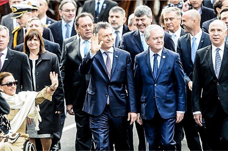 """Macri tuvo su primer Tedeum como presidente y dijo que el país va """"por el camino correcto"""""""