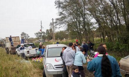 Vecinos del sector isleño continúan recibiendo asistencia