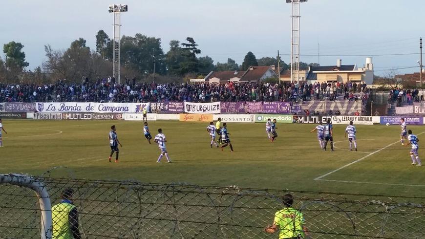 Villa Dalmine 1 Almagro 0