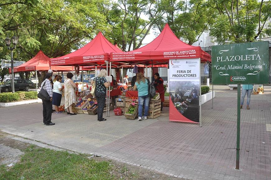 La Plazoleta Belgrano recibe este viernes a los Productores Locales