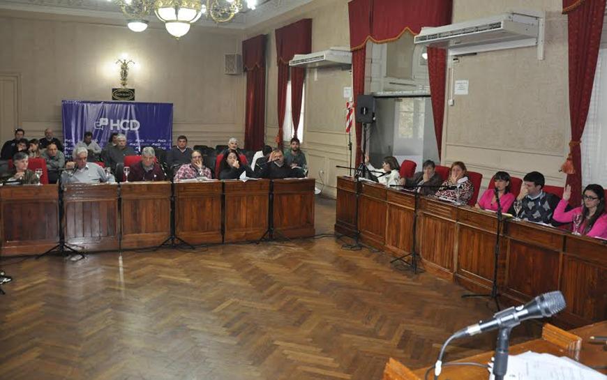 Sesión especial: No se aprobó la rendición de cuentas del ex gobierno Municipal de Giroldi