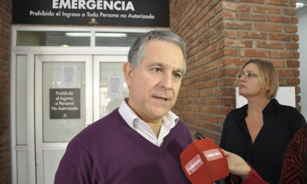 """""""Queremos un hospital moderno que sea el orgullo de Campana"""""""