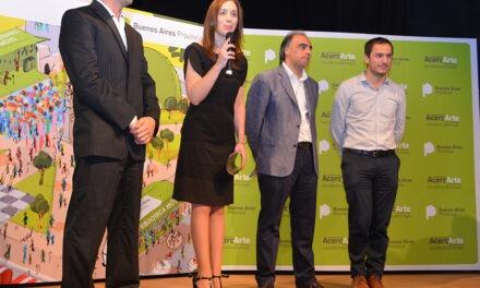 """Abella acompañó a la gobernadora Vidal en la presentación del programa cultural """"AcercArte"""""""