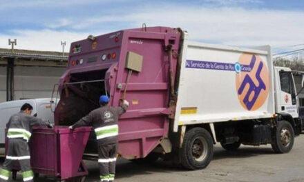 No habrá recolección de residuos el 25 de mayo