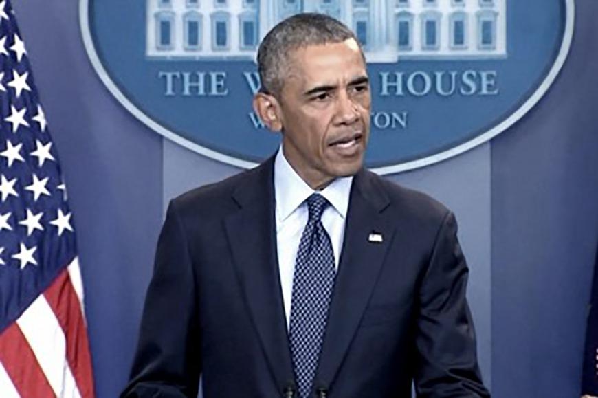 """""""El ataque es un caso de extremismo vernáculo"""", manifestó Barack Obama"""