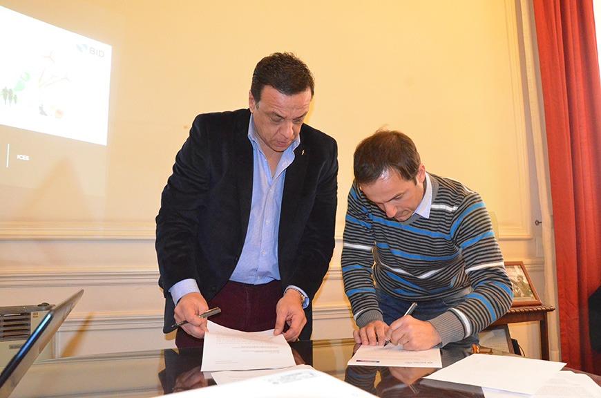 Abella y Cáffaro firmaron un acuerdo estratégico