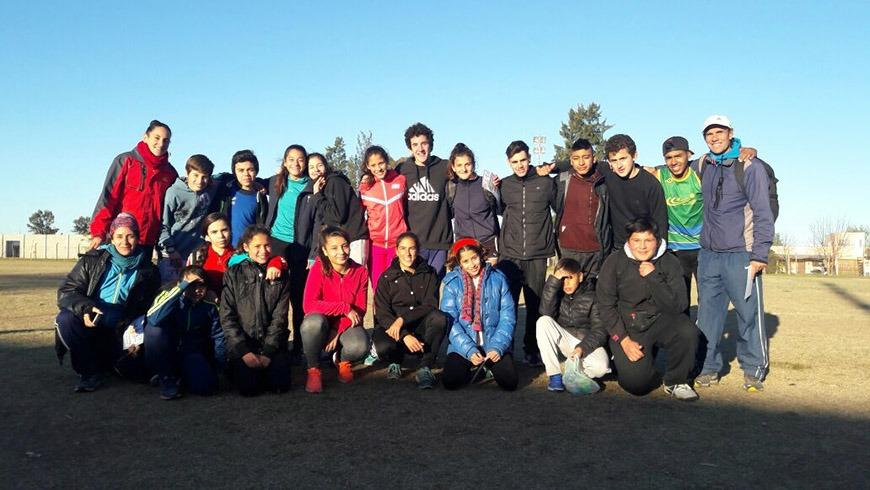 Atletas de la ciudad de Campana participaron de un amistoso en Baradero