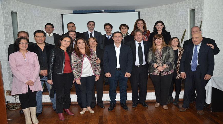 El Intendente participó del acto de asunción del nuevo consejo directivo del Colegio de Abogados