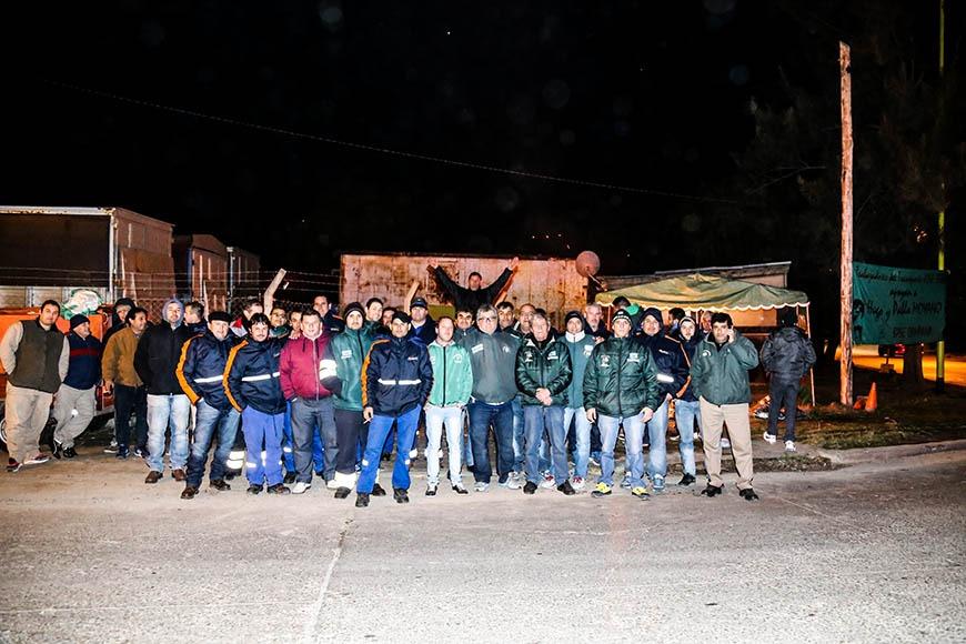 El Sindicato de camioneros comenzó un paro a nivel nacional a partir de las 21:00 hs del dìa de hoy