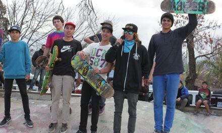 Destrezas y habilidades en el Skate Park de la Plaza 1º de Mayo