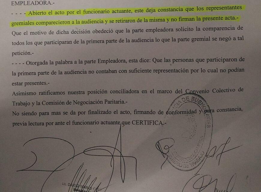 """""""El municipio tiene una absoluta vocación de continuar dialogando en paritarias"""", resaltaron desde el Ejecutivo"""