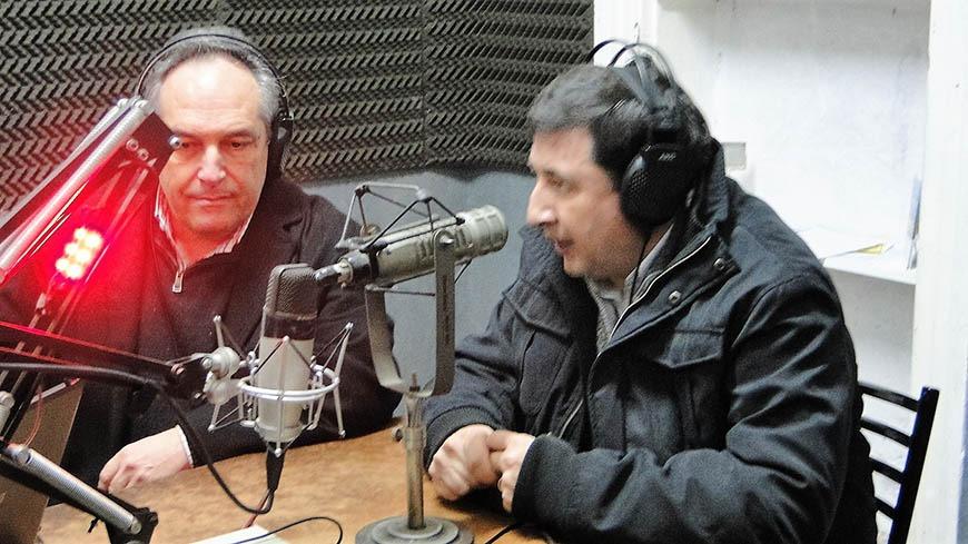 Daniel Arroyo, Director del Banco Provincia por la oposición y dirigente del Frente Renovador, visitó Campana.