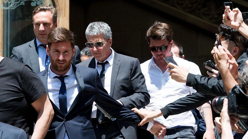 """BARCELONA Lionel Messi: """"Yo sólo jugaba al fútbol. Firmaba los contratos porque confiaba en mi papá"""""""