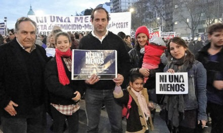 El Frente Renovador comprometido con la movilización de Ni Una Menos.