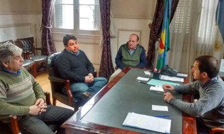 Abella recibió a los nuevos referentes del Partido Fe en Campana