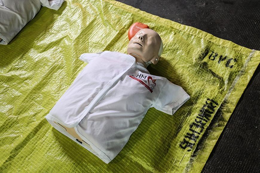 Ahora!!! Bomberos Voluntarios de Campana se capacitan en RCP y primeros auxilios