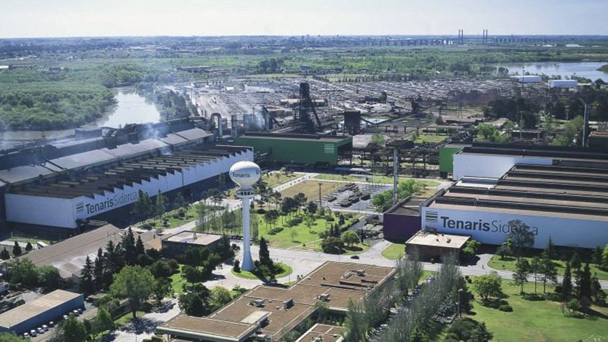 Tenaris Siderca detuvo este sabado todos sus procesos industriales