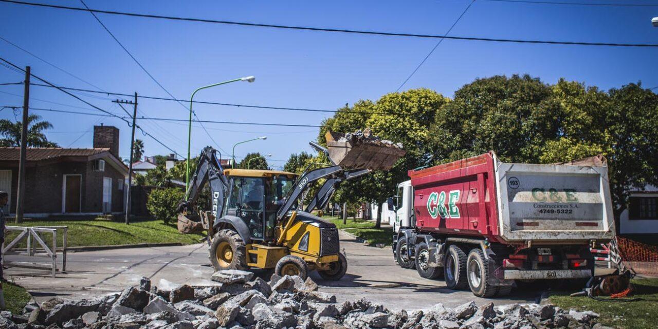 Avanza el Plan Integral de Bacheo en el casco urbano