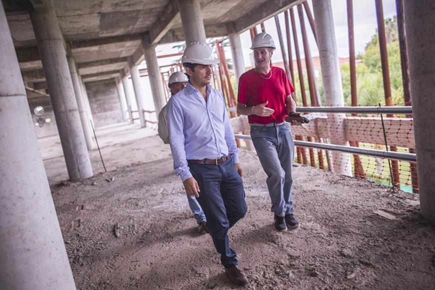 Avanza la construcción del nuevo edificio de la Biblioteca Pública Municipal