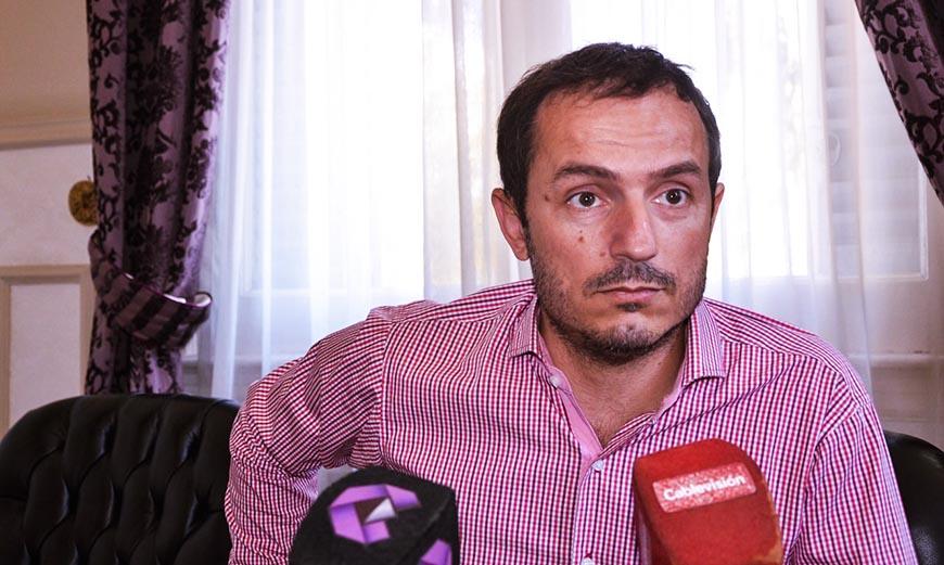 """Abella: """"Si a mi familia o a mí nos pasa algo, el responsable es Carlos Barrichi"""""""