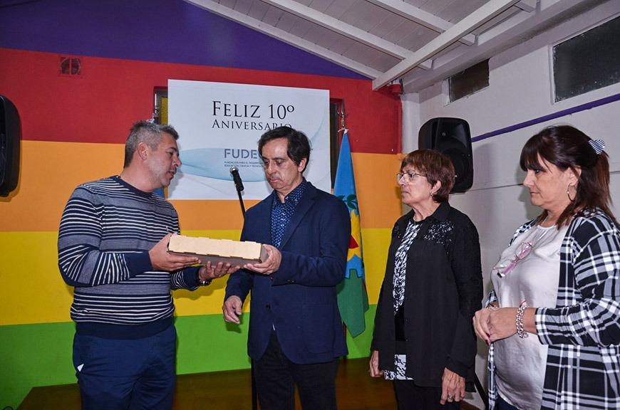 Autoridades municipales acompañaron la celebración del 10° Aniversario de FUDECyT