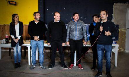 """Abella y Roses compartieron un encuentro con integrantes de la agrupación """"Julio A. Melo"""""""