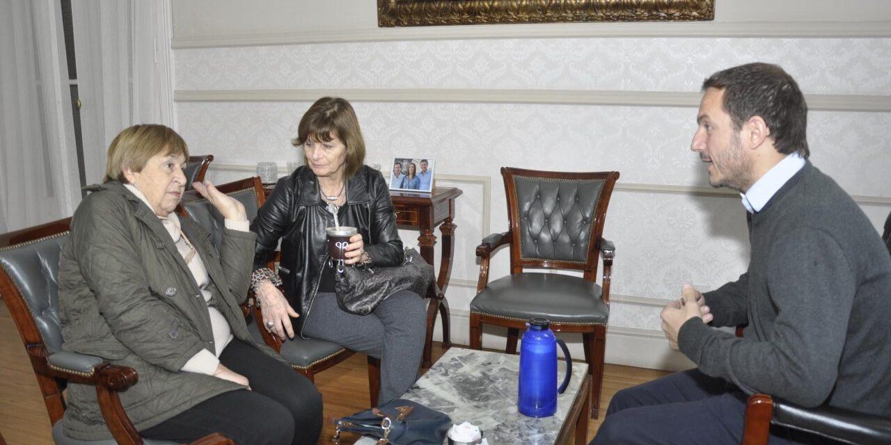 Abella se reunió con representantes de asociaciones civiles de la ciudad