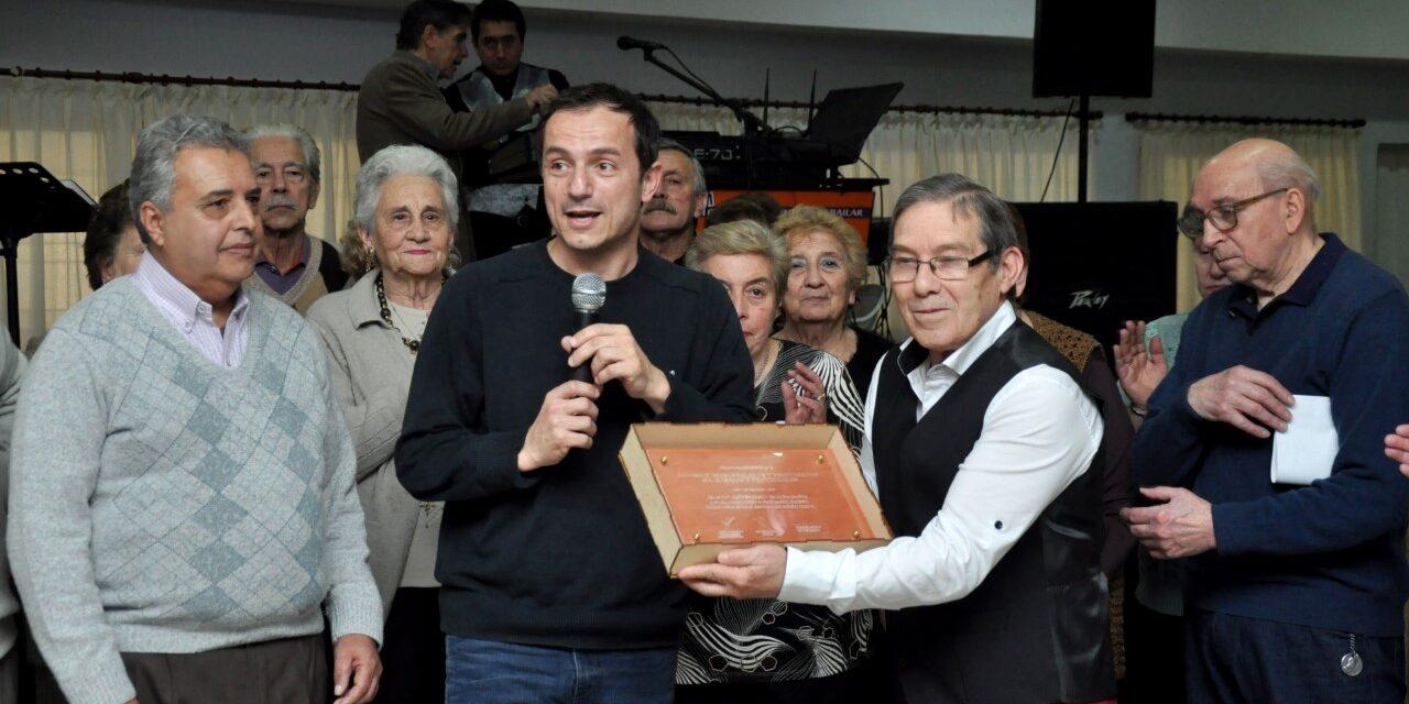 Abella y Roses compartieron los festejos por el 60º aniversario del Club de Jubilados de Pueyrredón