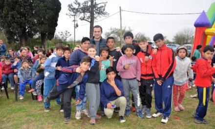 Abella participó de distintos festejos por el Día del Niño