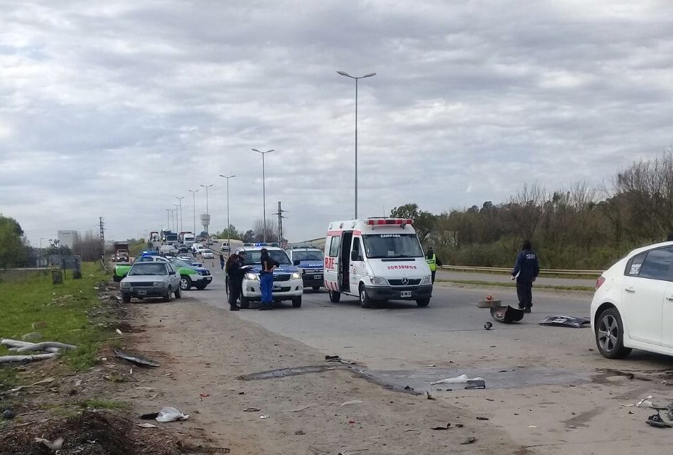 Accidente fatal sobre Ruta 6