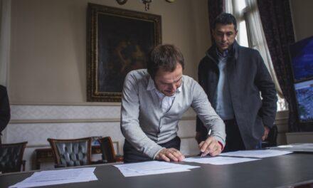 Abella firmó con Nación un importante convenio de colaboración académica y asistencia técnica