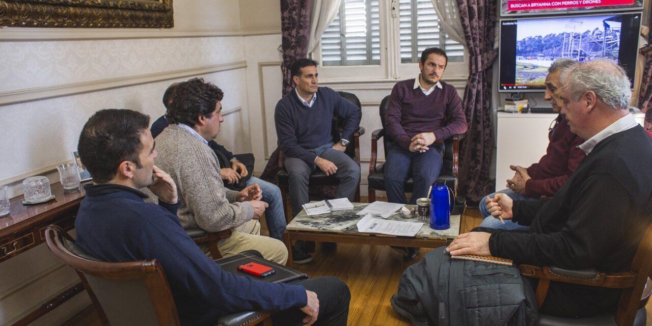 Abella se reunió con referentes de la Unión Industrial
