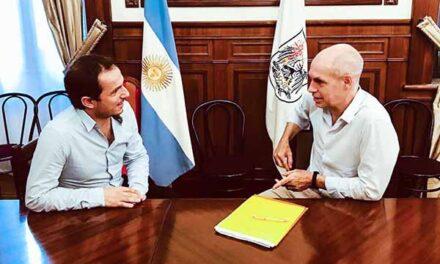 Abella se reunió con Rodríguez Larreta