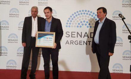 Abella fue distinguido con el Premio Comunas 2017
