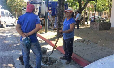 ABSA realiza distintos trabajos para mejorar la presión del agua