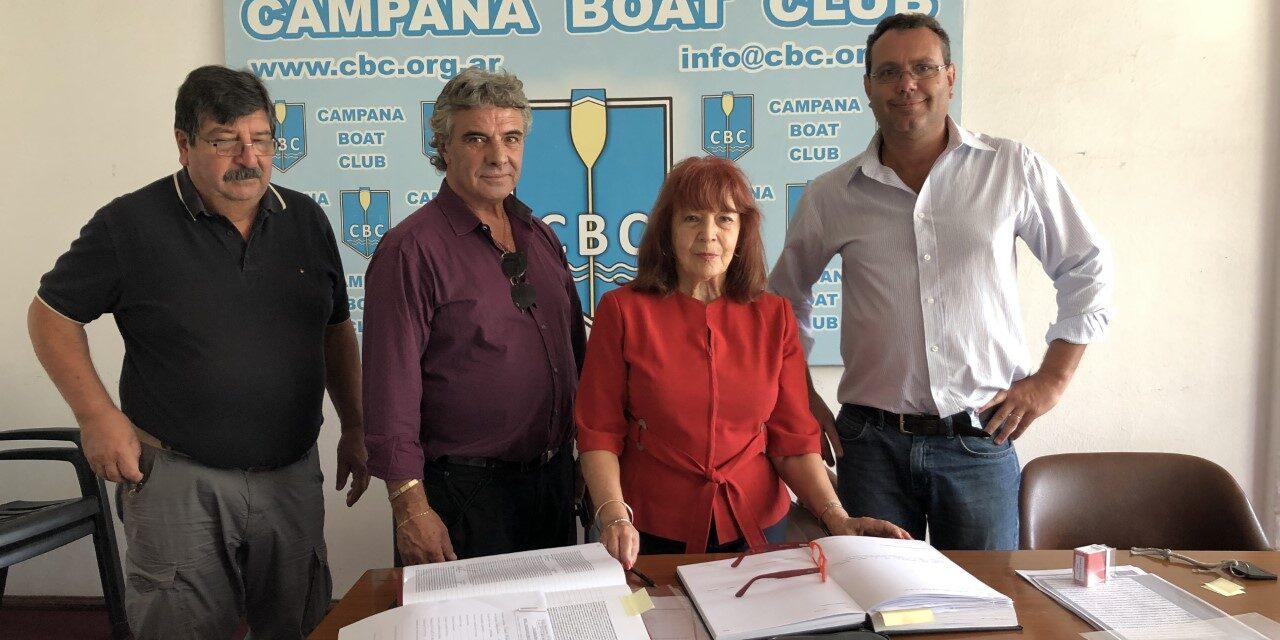 Acuerdo entre el Campana Boat Club y Euroamerica
