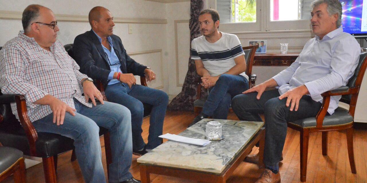 Abella se reunió con el nuevo director de la Delegación de Investigaciones del Tráfico de Drogas Ilícitas y Crimen Organizado