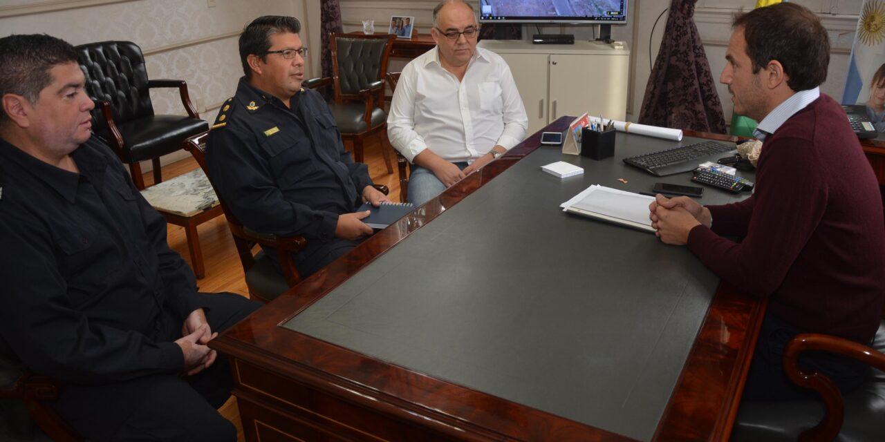 Abella se reunió con el nuevo director de la Policía Científica