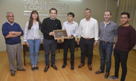 Abella reconoció el trabajo de tres instituciones de la ciudad