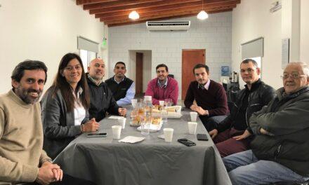 Abella visitó la empresa Ameghino