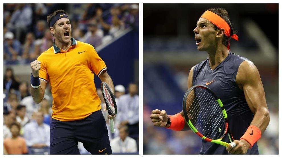 Acaricia el título: Del Potro avanzó a la final US Open 2018 tras el retiro de Rafael Nadal