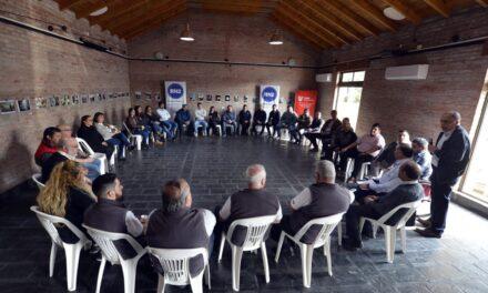 Avanza el trabajo articulado en seguridad de los municipios del Consorcio RN2