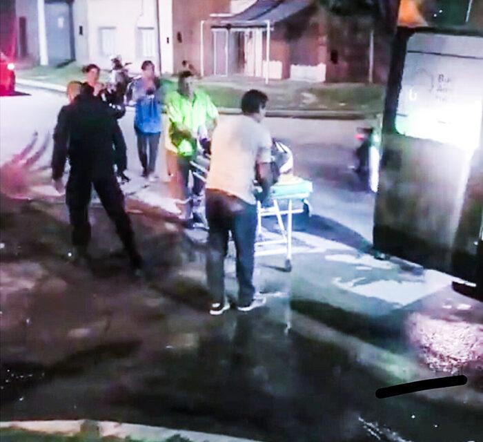 Atropelló  a una joven y se dio a la fuga