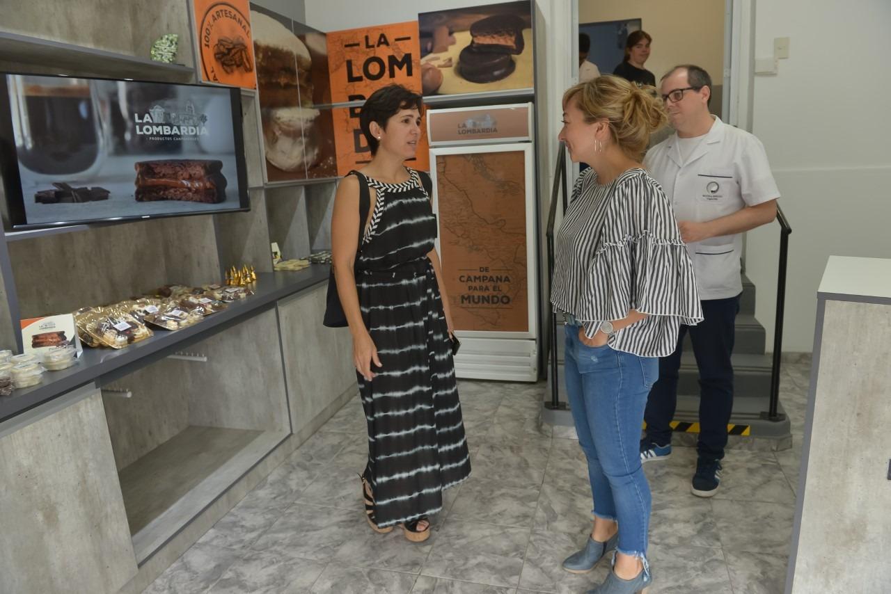Acciardi visitó la Fundación Abriendo Caminos