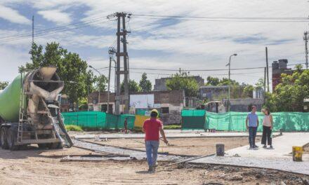 Avanza la construcción de la Plaza de Las Carretas