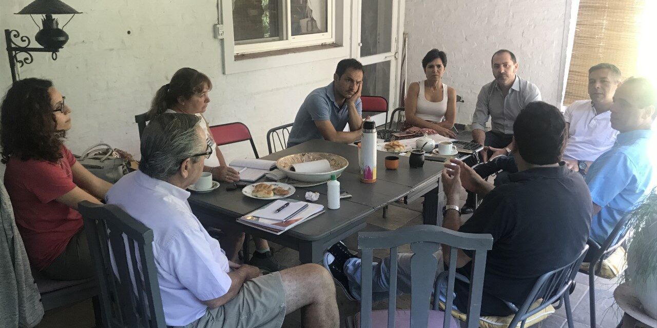 Abella se reunió con la Unión Vecinal de San Jorge