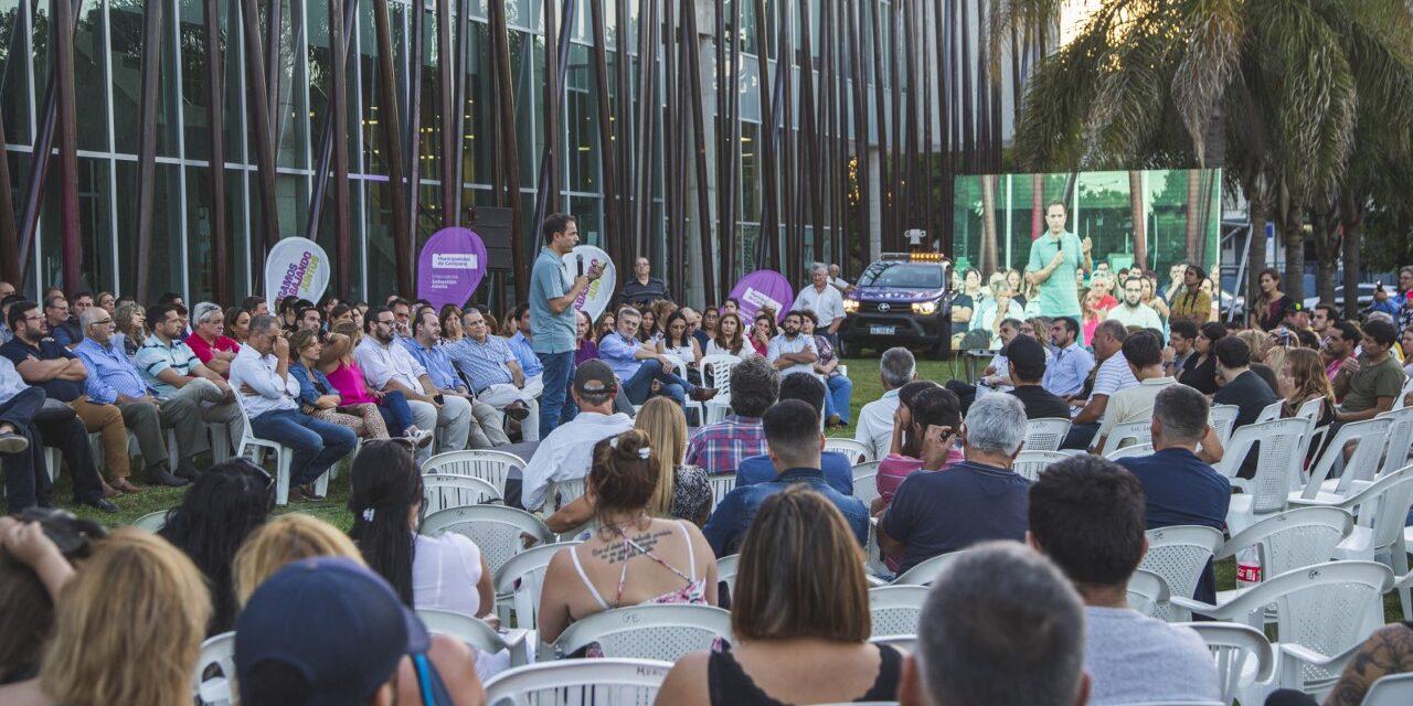 Abella presentó sus proyectos para el 2019 y anunció que irá por la reelección