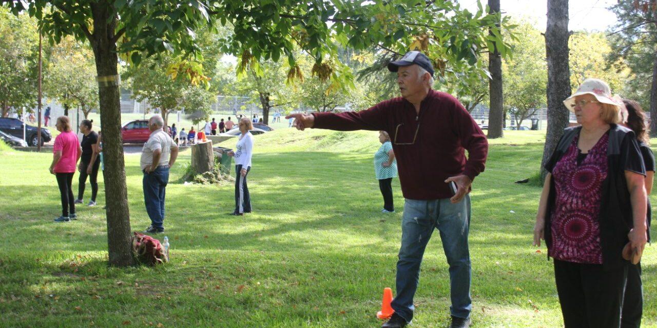 Adultos mayores regresaron con las actividades deportivas gratuitas en el Club Ciudad