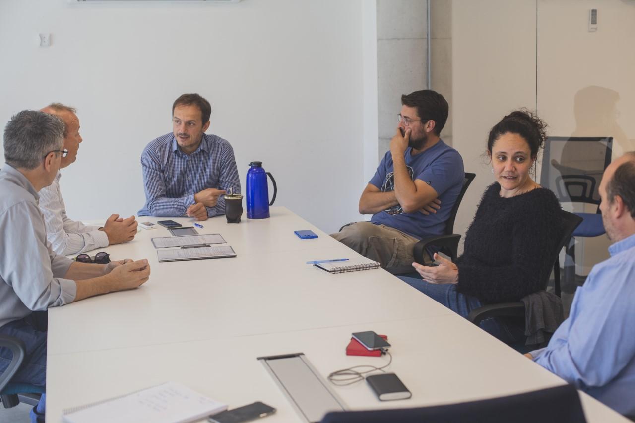 Abella se reunió con fomentistas de Las Lomadas